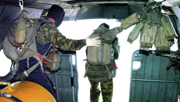 Учения воздушно-десантных войск, архивное фото