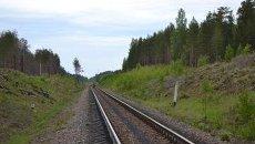 Железная дорога в Ленобласти. Архивное фото