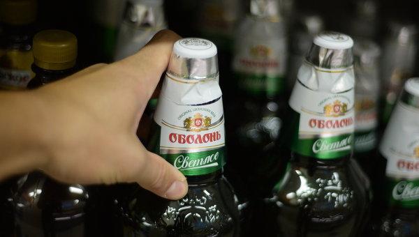 Украинское пиво, архивное фото