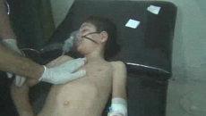 Последствия предполагаемой химической атаки в Сирии. Съемка очевидца