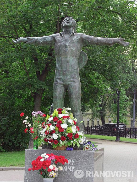 Памятник Владимиру Высоцкому в Москве