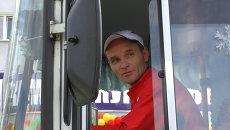 Круг и змейка задним ходом: как в Томске выбирали лучшего маршрутчика