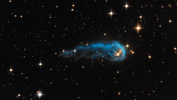 Космическая гусеница - газопылевая туманность IRAS 20324+4057