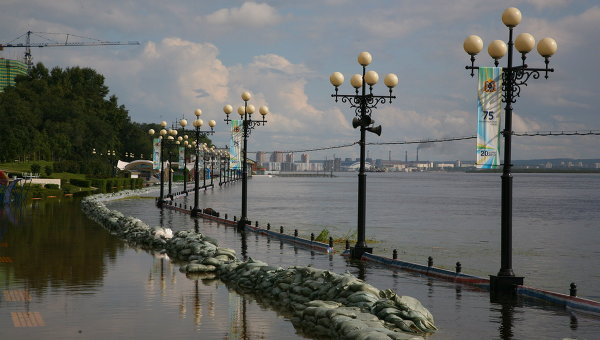 Паводок в Хабаровске. Архивное фото
