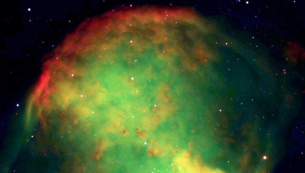Биполярная планетарная туманность Dumbbell Nebula, Messier 27