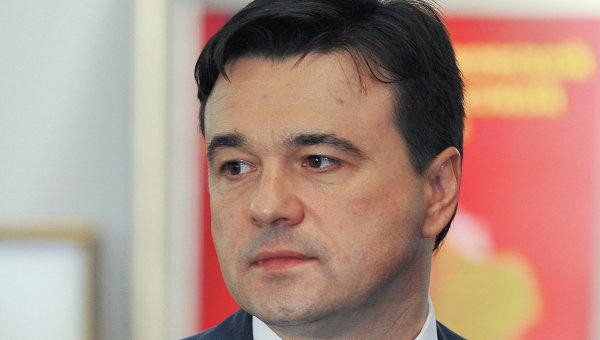Исполняющий обязанности губернатора Московской области Андрей Воробьев. Архив