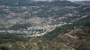 Вид на Турцию со стороны Сирии, архивное фото