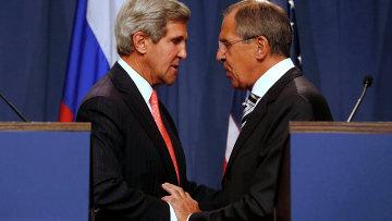 Лавров и Керри завершили переговоры по сирийскому химоружию. Фото с места события