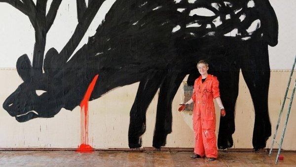 Марина Колдобская, Большой олень. 2012