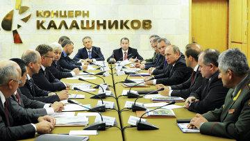 Рабочая поездка В.Путина в Ижевск, фото с места события