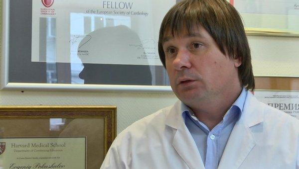 Руководитель центра хирургической аритмологии клиники Мешалкина в Новосибирске Евгений Покушалов
