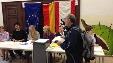 Выборы в ФРГ. Архивное фото