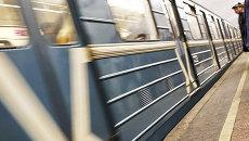 Вагон метро. Архив