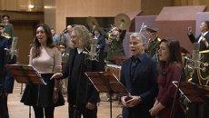 Гарипова, Газманов и Долина с оркестром минобороны записали гимн России