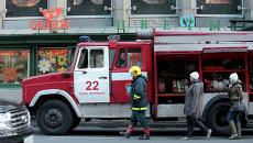 Возгорание в петербургском метро. Фото с места события