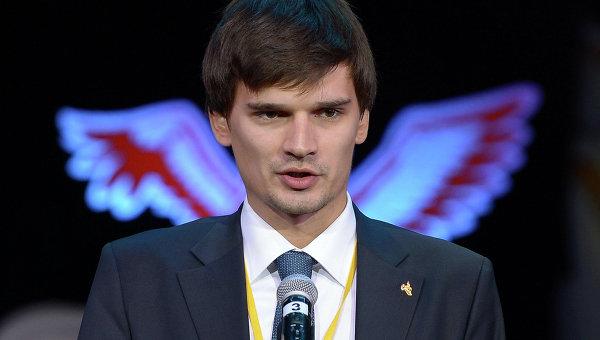 Андрей Сиденко на церемонии награждения конкурса Учитель года России–2013. Фото с места события