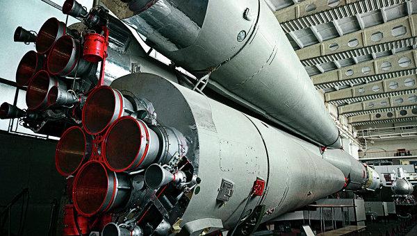 Сборочный цех, где производят ракеты-носители. Архивное фото
