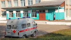 Школа в Приморье, ученики которой были госпитализированы после пробы Манту. Архивное фото