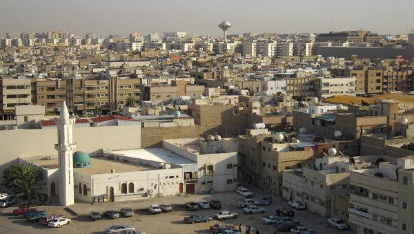 Вид города Эр-Рияд. Саудовская Аравия. Архивное фото