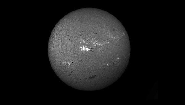Вспышка на Солнце в ночь на 23 октября