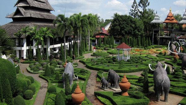 Тропический парк Нонг-Нуч в Паттайе (Таиланд). Архивное фото