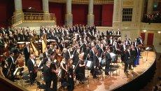 Выступление оркестра и хора Мариинского театра в Вене. Архивное фото