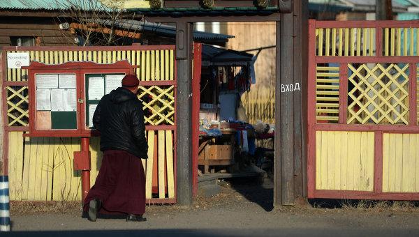 Иволгинский дацан - буддийский монастырский комплекс, центр Буддийской традиционной Сангхи России. Архивное фото.
