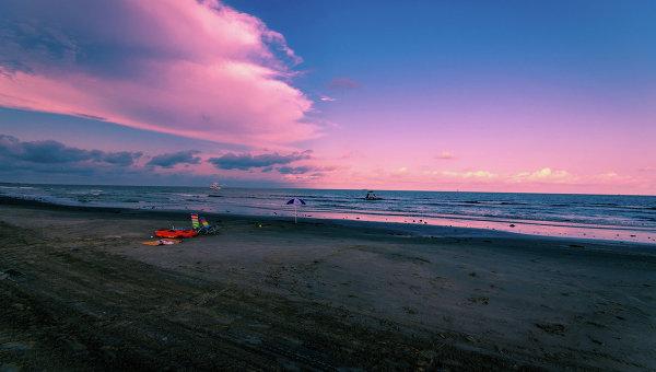 Побережье Мексиканского залива. Архивное фото