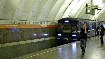 Станция петербургского метрополитена Лиговский проспект, архивное фото