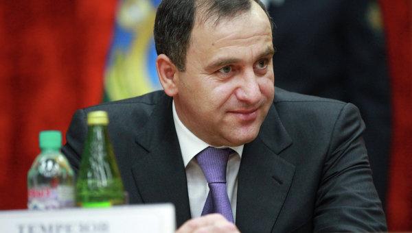 Президент Карачаево-Черкесии Рашид Темрезов. Архивное фото