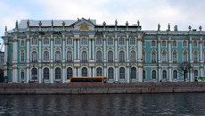 Здание Государственного Эрмитажа в Санкт-Петербурге. Архивное фото