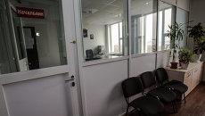 Кабинет начальника в самом современном полицейском участке России на острове Русском во Владивостоке.