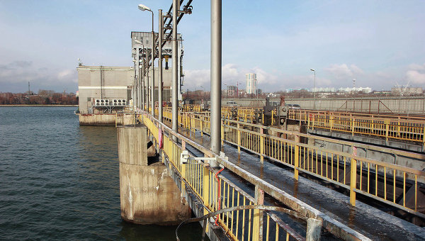 Новосибирская ГЭС. Архивное фото