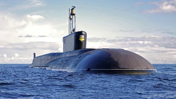 Стратегическая атомная подводная лодка (проект 955 Борей) Александр Невский. Архивное фото