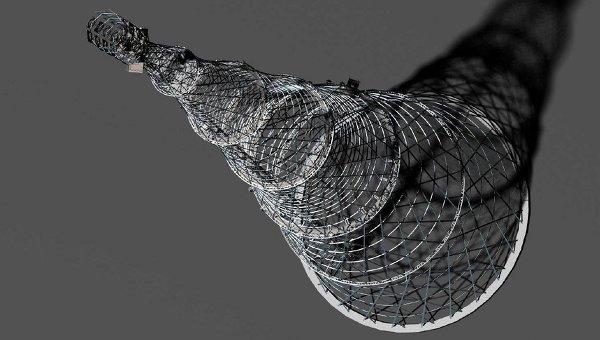 Трехмерная модель Шуховской башни
