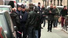 Неизвестный открыл стрельбу в редакции Liberation в Париже. Кадры с места ЧП