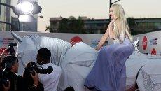 Певица Леди Гага на 41-й церемонии American Music Awards