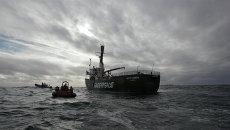 Судно Greenpeace Арктик Санрайз. Архивное фото