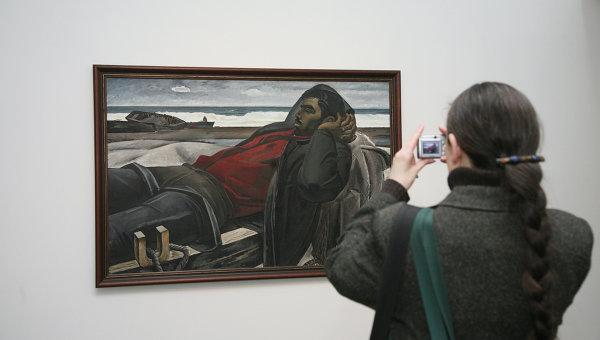 Выставка вице-президента Российской академии художеств Таира Салахова. Архивное фото