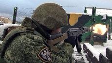 Бойцы-контрактники софринской бригады отбили атаку и взяли штурмом дом