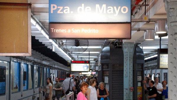 Самый старый в Южной Америке метрополитен Буэнос-Айреса отметил столетний юбилей