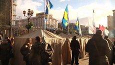 Киев сегодня: помощь раненым и жизнь палаточного городка на Майдане
