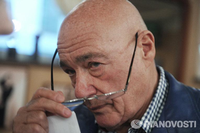 Тележурналист Владимир Познер. Архивное фото