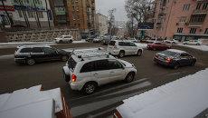 Снегопад во Владивостоке. Архивное фото