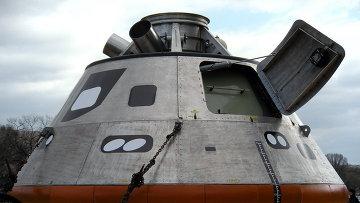 Обитаемый модуль нового космического корабля Орион, архивное фото