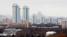 Новостройки Москвы, архивное фото