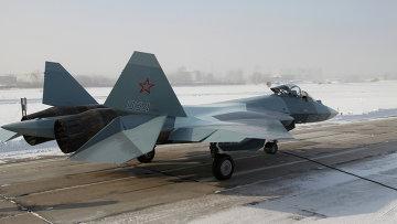 Истребитель пятого поколения Т-50-4