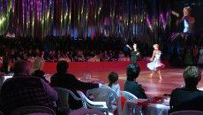 Чемпионы мира по бальным танцам выступили на красноярском паркете