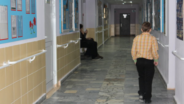 Ребенок в  школе, фото из архива