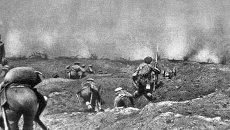 Бой во время первой мировой войны, архивное фото